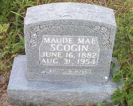 SCOGIN, MAUDE MAE - Boone County, Arkansas | MAUDE MAE SCOGIN - Arkansas Gravestone Photos