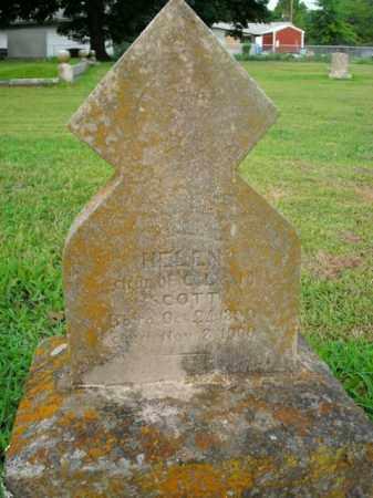 SCOTT, HELEN - Boone County, Arkansas | HELEN SCOTT - Arkansas Gravestone Photos