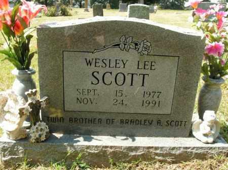 SCOTT, WESLEY LEE - Boone County, Arkansas | WESLEY LEE SCOTT - Arkansas Gravestone Photos
