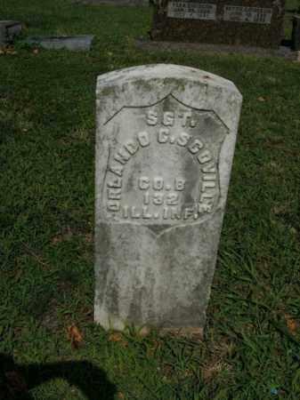 SCOVILLE  (VETERAN UNION), ORLANDO C. - Boone County, Arkansas   ORLANDO C. SCOVILLE  (VETERAN UNION) - Arkansas Gravestone Photos