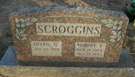 SCROGGINS, ROBERT F. - Boone County, Arkansas | ROBERT F. SCROGGINS - Arkansas Gravestone Photos
