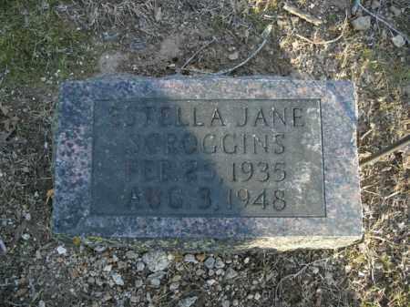 SCROGGINS, STELLA JANE - Boone County, Arkansas | STELLA JANE SCROGGINS - Arkansas Gravestone Photos