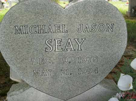 SEAY, MICHAEL JASON - Boone County, Arkansas | MICHAEL JASON SEAY - Arkansas Gravestone Photos