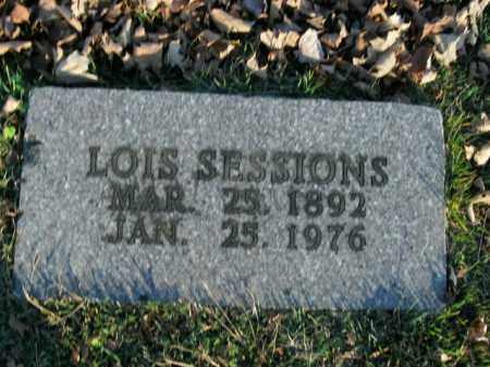 SESSIONS, LOIS - Boone County, Arkansas | LOIS SESSIONS - Arkansas Gravestone Photos