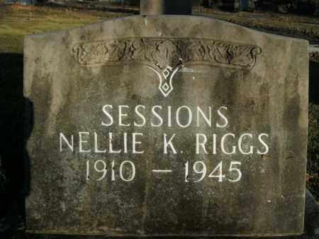 SESSIONS, NELLIE K. - Boone County, Arkansas | NELLIE K. SESSIONS - Arkansas Gravestone Photos