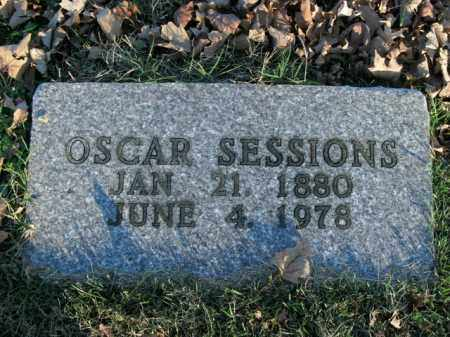 SESSIONS, OSCAR - Boone County, Arkansas | OSCAR SESSIONS - Arkansas Gravestone Photos