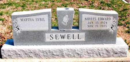SEWELL, NOYLES EDWARD - Boone County, Arkansas | NOYLES EDWARD SEWELL - Arkansas Gravestone Photos