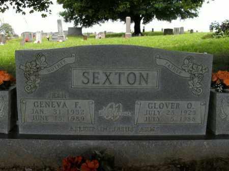 SEXTON, GENEVA FERN - Boone County, Arkansas | GENEVA FERN SEXTON - Arkansas Gravestone Photos