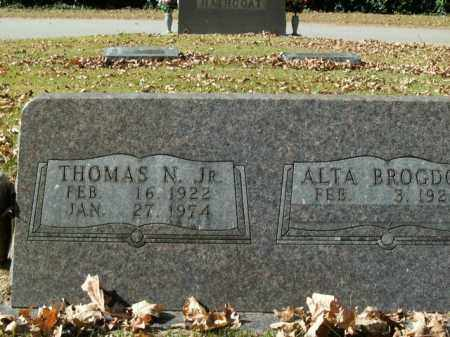 SHADDOX, JR, THOMAS N. - Boone County, Arkansas | THOMAS N. SHADDOX, JR - Arkansas Gravestone Photos