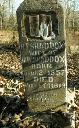 SHADDOX, R.I. - Boone County, Arkansas   R.I. SHADDOX - Arkansas Gravestone Photos