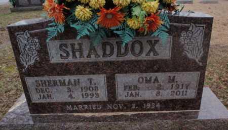 SHADDOX, SHERMAN T. - Boone County, Arkansas | SHERMAN T. SHADDOX - Arkansas Gravestone Photos