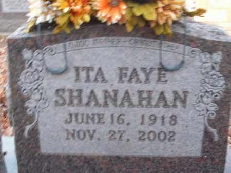 SHANAHAN, ITA FAYE - Boone County, Arkansas | ITA FAYE SHANAHAN - Arkansas Gravestone Photos