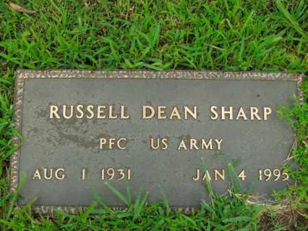 SHARP  (VETERAN), RUSSELL DEAN - Boone County, Arkansas   RUSSELL DEAN SHARP  (VETERAN) - Arkansas Gravestone Photos