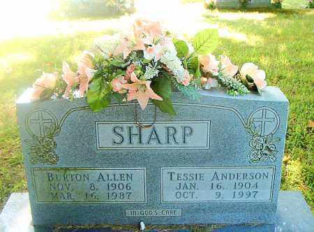 ANDERSON SHARP, TESSIE - Boone County, Arkansas | TESSIE ANDERSON SHARP - Arkansas Gravestone Photos