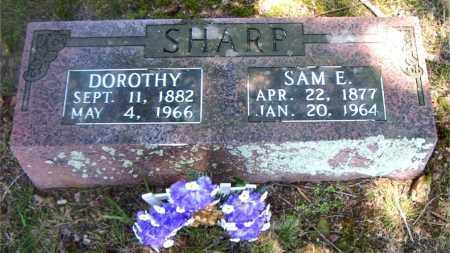 SHARP, DOROTHY - Boone County, Arkansas   DOROTHY SHARP - Arkansas Gravestone Photos