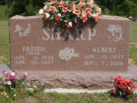 SHARP, FREIDA - Boone County, Arkansas | FREIDA SHARP - Arkansas Gravestone Photos