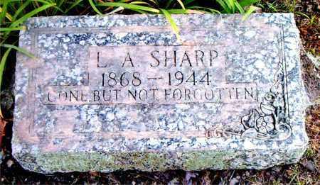 SHARP, L.  A - Boone County, Arkansas | L.  A SHARP - Arkansas Gravestone Photos