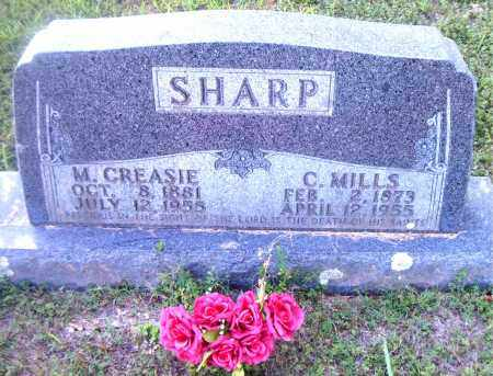 SHARP, MARY  CREASIE - Boone County, Arkansas | MARY  CREASIE SHARP - Arkansas Gravestone Photos