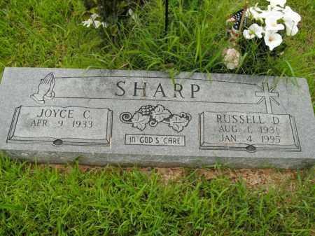 SHARP, RUSSELL D. - Boone County, Arkansas | RUSSELL D. SHARP - Arkansas Gravestone Photos