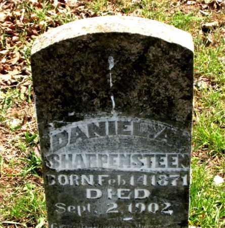 SHARPENSTEEN, DANIEL  A. - Boone County, Arkansas | DANIEL  A. SHARPENSTEEN - Arkansas Gravestone Photos