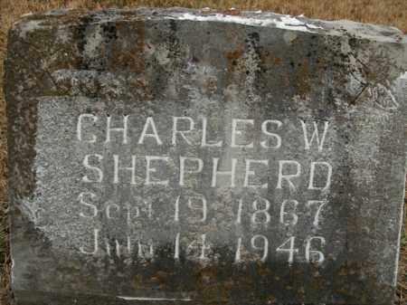 SHEPHERD, CHARLES WILLIAM - Boone County, Arkansas | CHARLES WILLIAM SHEPHERD - Arkansas Gravestone Photos