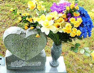 SHEPHERD, JOAN DACE - Boone County, Arkansas | JOAN DACE SHEPHERD - Arkansas Gravestone Photos