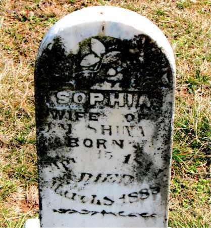 SHINN, SOPHIA - Boone County, Arkansas   SOPHIA SHINN - Arkansas Gravestone Photos
