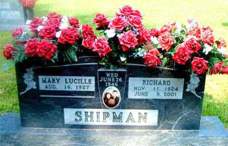 SHIPMAN, RICHARD - Boone County, Arkansas   RICHARD SHIPMAN - Arkansas Gravestone Photos