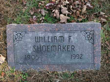 SHOEMAKER, WILLIAM F. - Boone County, Arkansas | WILLIAM F. SHOEMAKER - Arkansas Gravestone Photos