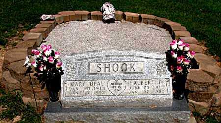 SHOOK, HALBERT ELMER - Boone County, Arkansas | HALBERT ELMER SHOOK - Arkansas Gravestone Photos