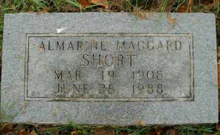 SHORT, ALMARINE - Boone County, Arkansas | ALMARINE SHORT - Arkansas Gravestone Photos