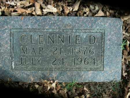 SHORT, GLENNIE D. - Boone County, Arkansas | GLENNIE D. SHORT - Arkansas Gravestone Photos