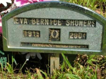 SHOWERS, EVA BERNICE - Boone County, Arkansas   EVA BERNICE SHOWERS - Arkansas Gravestone Photos