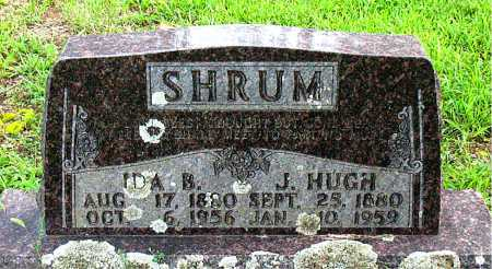 SHRUM, J. HUGH - Boone County, Arkansas | J. HUGH SHRUM - Arkansas Gravestone Photos