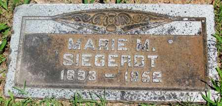 SIEGERDT, MARIE M - Boone County, Arkansas   MARIE M SIEGERDT - Arkansas Gravestone Photos