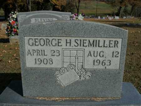 SIEMILLER, GEORGE H. - Boone County, Arkansas | GEORGE H. SIEMILLER - Arkansas Gravestone Photos