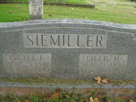 SIEMILLER, LILLIE M. - Boone County, Arkansas | LILLIE M. SIEMILLER - Arkansas Gravestone Photos