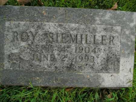 SIEMILLER, ROY - Boone County, Arkansas | ROY SIEMILLER - Arkansas Gravestone Photos