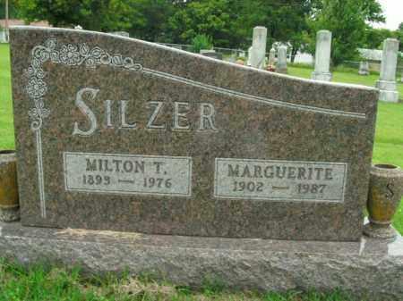 SILZER, MILTON T. - Boone County, Arkansas   MILTON T. SILZER - Arkansas Gravestone Photos