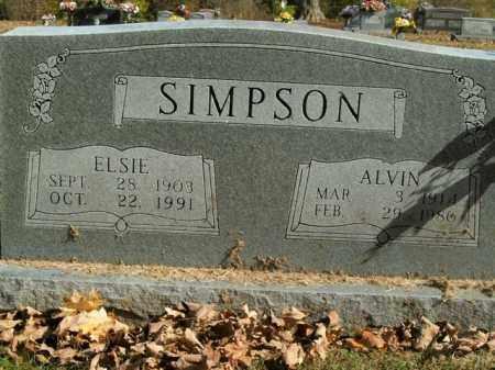 SIMPSON, ALVIN - Boone County, Arkansas   ALVIN SIMPSON - Arkansas Gravestone Photos