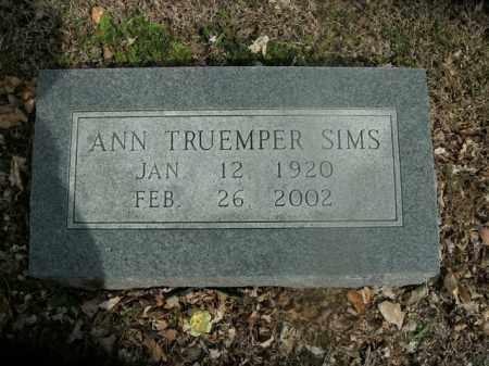 SIMS, ANN - Boone County, Arkansas   ANN SIMS - Arkansas Gravestone Photos