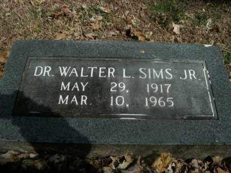 SIMS, JR, WALTER L. - Boone County, Arkansas   WALTER L. SIMS, JR - Arkansas Gravestone Photos