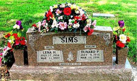 SIMS, LENA H - Boone County, Arkansas | LENA H SIMS - Arkansas Gravestone Photos
