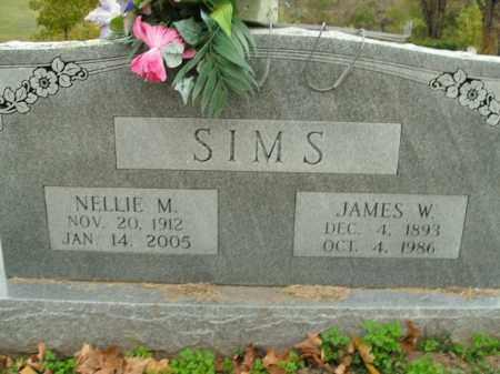 SIMS, JAMES W. - Boone County, Arkansas | JAMES W. SIMS - Arkansas Gravestone Photos