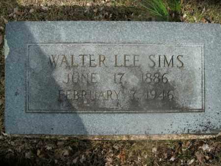 SIMS, WALTER LEE - Boone County, Arkansas | WALTER LEE SIMS - Arkansas Gravestone Photos