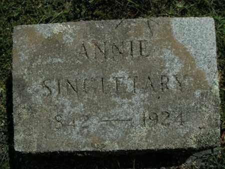 SINGLETARY, ANNIE - Boone County, Arkansas   ANNIE SINGLETARY - Arkansas Gravestone Photos