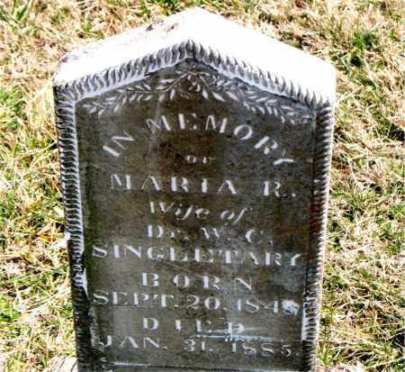 SINGLETARY, MARIA  R. - Boone County, Arkansas   MARIA  R. SINGLETARY - Arkansas Gravestone Photos