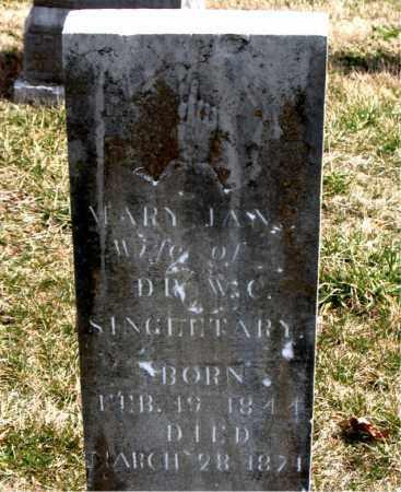 SINGLETARY, MARY JANE - Boone County, Arkansas | MARY JANE SINGLETARY - Arkansas Gravestone Photos