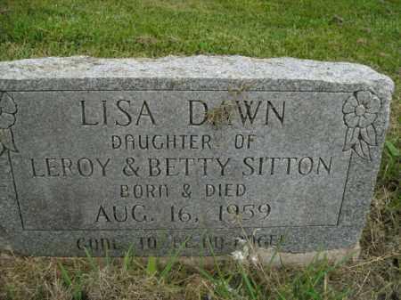 SITTON, LISA DAWN - Boone County, Arkansas | LISA DAWN SITTON - Arkansas Gravestone Photos