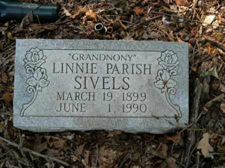 PARISH SIVELS, LINNIE - Boone County, Arkansas | LINNIE PARISH SIVELS - Arkansas Gravestone Photos